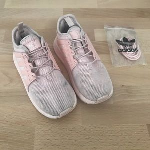 Adidas Pink girl shoes size 10